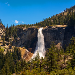 Nevada Fall (Rodney Topor) Tags: california landscape nevadafall usa waterfall yosemitenp yosemitevalley xf35mmf2 xt2