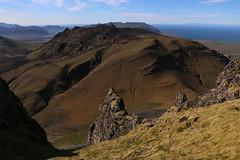 Kerlingarfjall (hó) Tags: kerlingarfjall grímsfjall snæfellsnes iceland landscape mountain hyaloclastite geology moss barren brown sky august 2018