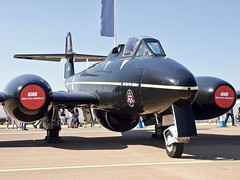 Gloster Meteor T7 (Nigel Musgrove-2.5 million views-thank you!) Tags: martin baker gloster meteor t7 riat 2018 raf fairford uk england air show display tattoo royal international military