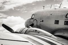 Dakota (patoche21) Tags: aeronautique aeronef aviation avion ba105 baseaerienne ciel dc3 douglas eure europe evreux france monochrome normandie aviationcivile aviationcommerciale aviondetransport avionàhélice aérien contreplongée fuselage hélice meeting moteur métal nuage reportage patrickbouchenard aircraft airplane event airshow airbase military aeronautic propeller twinengined old normandy civilian airtransport dakota skytrain nb bw blackandwhite historical historique