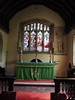 High Altar, St James the Great Church, South Leigh, Oxfordshire