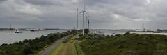 Scheurhaven, Rotterdam (VanveenJF) Tags: rozenburg noordzeeweg sony rotterdam 85mm maas land kering maeslantkering boat tankers water holland nederland ships flooding
