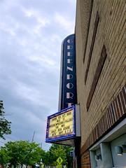 Greenport Theater (Joe Shlabotnik) Tags: greenport 2018 galaxys9 august2018 marquee sign longisland theater movietheater cameraphone northfork