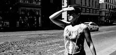 Everybody's looking for something... (Baz 120) Tags: candid candidstreet candidportrait city street streetphotography streetportrait sony a7 rome europe women monochrome monotone mono noiretblanc blackandwhite bw urban people italy italia grittystreetphotography decisivemoment