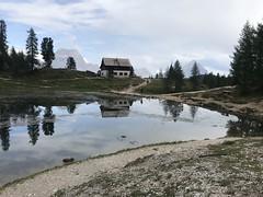 Rifugio Croda da Lago e l'Antelao (Roberto Tarantino EXPLORE THE MOUNTAINS!) Tags: lago federa 2038 mt slm becco di mezzodì croda da rifugio cortina trentino