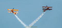 AeroSuperBatics Wingwalkers (R M Photography) Tags: d3300 tamron70300 tamrona17 tamron bournemouth bournemouthairfest bournemouthairfestival aerosuperbatics wingwalkers