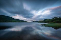 Kaleidoscopic Clouds (Justin Cameron) Tags: loch tighmor scotland lochachray highlands leegraduatedfilter reflections canon5dmkiii leelittlestopper longexposure canonef1635mmf4lisusm clouds