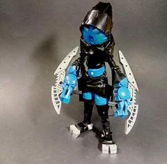 Dalu, the Rebel (Poor Disadvantaged) Tags: bionicle lego dalu matoran tape marker nonpurist