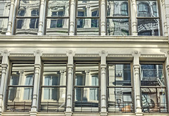 reflections of Soho (albyn.davis) Tags: architecture soho nyc newyorkcity usa building windows reflections urban city manhattan