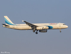 Yamal Airlines A321-200 VQ-BSM (birrlad) Tags: antalya ayt international airport turkey aircraft aviation airplane airplanes airline airliner airlines airways approach arrival arriving finals landing runway yamal a321 a321200 a321231 vqbsm moscow domodedovo