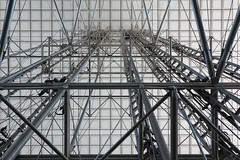 Elevators To The Rooftop Of The Grand Arch La Defense Paris 1 September 2018 (The McCorristons) Tags: france paris september 2018 grand arch rooftop grandearche arche ladefense defense elevators