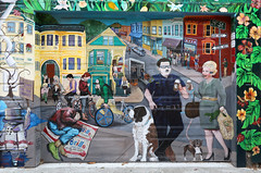 Murals - Mission District (raffaele pagani) Tags: sanfranciscomuralarts murals paintings streetart balmyalley mission missiondistrict sanfrancisco california unitedstates canon