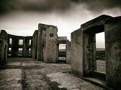 Downhill House (3) (Feldore) Tags: downhill house ruin ruined mansion ireland irish castlerock feldore mchugh em1 olympus 1240mm sepia moody walls abandoned windows northern