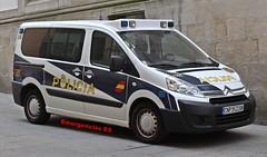Policía Nacional (emergenciases) Tags: emergencias españa galicia vehículo 112 coche policía seguridad policíanacional citroen 091