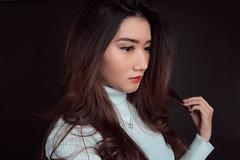Consider whit simple white (simpangcandidstudio) Tags: girl asiangirl indoorstudio studiolight model beautifulmodel whiteconcept simplewhite fashion style lifestyle