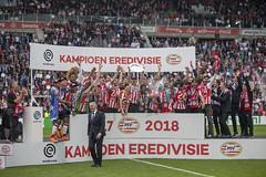 PSV Eindhoven: Eredivisie football champions again! (Tim van Woensel) Tags: psv eindhoven eredivisie league champion 1718 20172018 dutch football soccer joy happiness 30 ajax defeat glory netherlands championship 24 titles title winners philips stadium stadion voetbal landskampioen de schaal boerûh