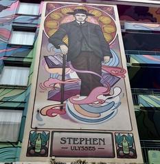 STEPHEN  -  Ulysses  - Dublin (Ann@Plas Gwernoer) Tags: stephen ulysses dublin art street