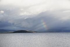 Rainbow in pieces (O.Sjomann) Tags: rainbow regnbue arcticseasport clouds skyer sea skjerstadfjorden fauske bodø bodoe salten tverlandet løding nordland northernnorway norway naurstad nordnorge canon7d sigmadc18200 sjø