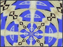 Abstract Design Created by STEVEN CHATEAUNEUF On September 17, 2018 - Created From A Photo I Took On August 12, 2018 (snc145) Tags: abstract design shapes colors blue beige black photo digitalart editedimage creative artistic august122018 september172018 stevenchateauneuf