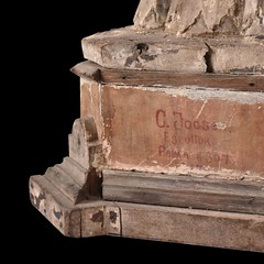 Crispulo Jocson: San Ignacio de Loyola (Detail) (Leo Cloma) Tags: philippines antique antiques furniture art auction salcedo auctions makati manila cloma