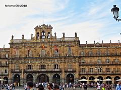 Salamanca 20180627 05 Plaza Mayor (ferlomu) Tags: arquitectura ferlomu plaza salamanca