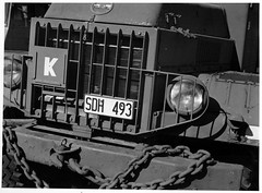Army Truck (andresnika) Tags: fomapan 200 hc110 h dilution omegon 9035 rapid omega 100 paper scan