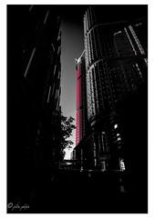 Last light (Peter Polder) Tags: building architecture dusk sky road city tower skyscraper