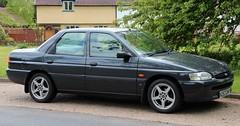 N263 DMF (Nivek.Old.Gold) Tags: 1996 ford escort 16 16v lx 4door
