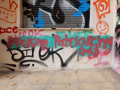 Fucking Patriarchy (adj) (aestheticsofcrisis) Tags: street art urban intervention streetart urbanart guerillaart graffiti postgraffiti athens athen attiki athina greek greece europe eu exarcheia exarchia queer feminist feminism