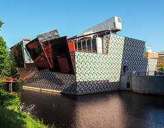 Groninger Museum III (@mmanni) Tags: groningen niederlande groningermuseum alessandromendini delucchi philippestarck coophimmelblau architecture architektur