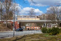 Neue Vahr-Hochbahn (trainspotter64) Tags: strasenbahn streetcar stadtbahn tram tramway tranvia tramvaj tramwaje hansawaggon bremen hansestadt bsag t4a hansa