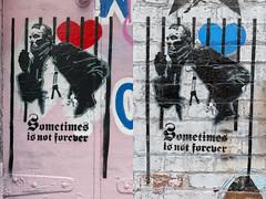 Sean Burton 2018-08-26 (5D_32A3634&40) (ajhaysom) Tags: seanburton stencil veteranssuicideawareness hosierlane graffiti streetart melbourne australia canon1635l canoneos5dmkiii duckboardplace