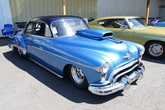 1950 Oldsmobile (bballchico) Tags: 1950 oldsmobile dragcar spencercochran goodguyspacificnwnationals carshow