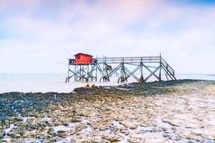 La cabane rouge (Fabrice Denis Photography) Tags: nouvelleaquitaine france seascapes ocean charentemaritime coastal seascapephotography carrelet coastalphotography cabanedepêcheur ilemadame seascapephotographer oceanphotography seascapephotos sea fr
