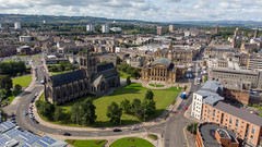 Paisley Abbey and Town Hall