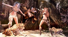 Thunder (Varosh Santanamiguel) Tags: {acios} sale preview promo gift september woman boogs socks avatar thunder new highheels hunter huntress girl women jaguar areiyon vsm