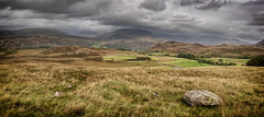 10th September 2018 (Rob Sutherland) Tags: birker fell field systems ancient landscape eskdale mountains scafell pike lakes lakeland lakedistrict cumbria cumbrian england english nationalpark dramatic sky stormy dark brooding sinister threatening