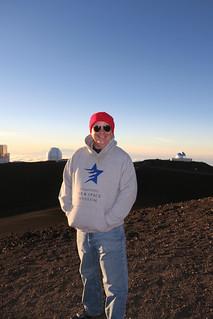 Me atop Mauna Kea