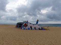 Où? à Tarnos, Landes, plage du Métro (Marie-Hélène Cingal) Tags: france nwn