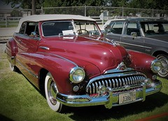"""""""When Better Cars Are Built...."""" (ilgunmkr - Mourning The Loss Of My Wife Of 52 Year) Tags: carshow sandwichillinois 2018 buick buickconvertible 1948 convertible"""