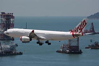 VH-XFC, A330-200, Virgin Australia, Hong Kong