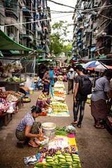 Wet Market (wilsonchong888) Tags: leicamsummilux35mmf14asphii m10 leica streetphotography yangon burma myanmar wetmarket colour people streetstall