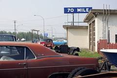 Rideau 500 (Curtis Gregory Perry) Tags: 70 mile house british columbia bc car meteor rideau 500 1968 1969 1970 classic old vintage auto automobile sign nikon d810 vehicle canada canadian automóvil coche carro vehículo مركبة veículo fahrzeug automobil