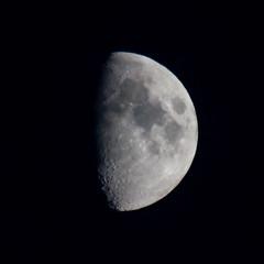 Moon in Glasgow (Evan_Ser) Tags: moon glasgow sky clear passion creative urban scotland