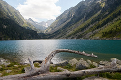 lac de Gaube (FredJ) Tags: pyrénées mountain lake cauterets gaube wood