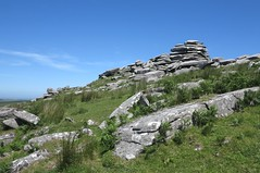 roughtor55 (West Country Views) Tags: rough tor cornwall bodmin moor scenery
