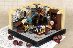 Mimic Mishap (2:STUDS) Tags: lego moc dd rpg tabletop gaming dungeons dragons fantasy creature character dungeon treasure
