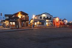 Santa Barbara, California - Stearns Wharf (russ david) Tags: santa barbara california stearns wharf ca sunset pacific ocean palm trees beach water june 2018