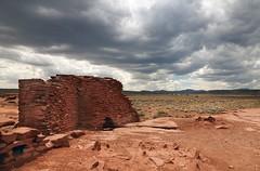 Wukoki Pueblo (Ron Wolf) Tags: anthropology archaeology nationalpark nativeamerican puebloan sinagua wupatkinationalmonument architecture pueblo ruins structure wall arizona