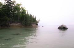 Rocky Point with Clear Water (BryanNewland) Tags: rocks cliffs ledge lakesuperior michigan baymillsindiancommunity upperpeninsula yooper nature